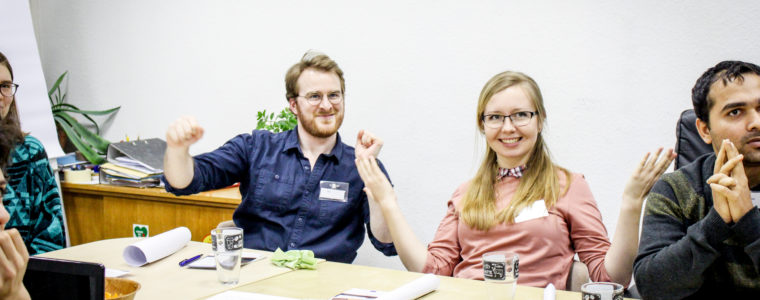 The Plagueville Night: Youth of Erfurt play a simulation