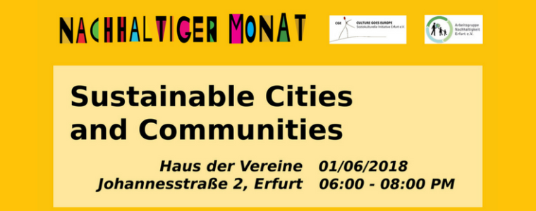 Sustainable cities and communities in Thuringia