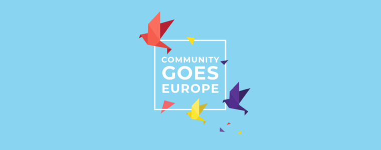 Pressemitteilung: Community Goes Europe – Bringing Europe Together