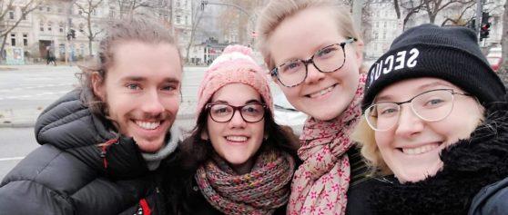 CGE's Volunteers go to Hamburg