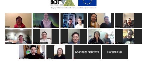 Actors of Urban Dialog // First Online Get-Together With Partners